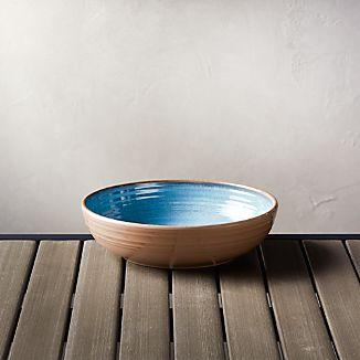 Caprice Blue 8" Melamine Bowl