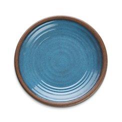 "Caprice Blue 8.5"" Melamine Plate"