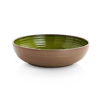 """Caprice Green 8"""" Melamine Bowl"""