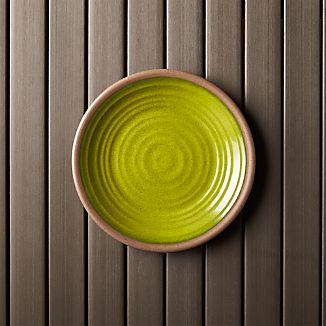 "Caprice Green 8.5"" Melamine Plate"