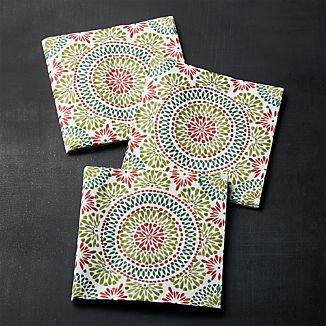 Caprice Holiday Paper Lunch Napkins Set of 20