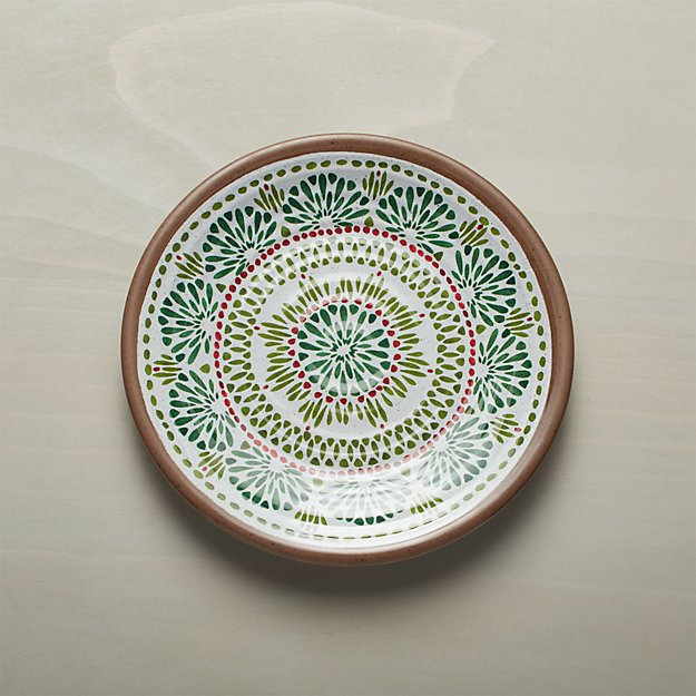 Caprice Holiday Melamine Plate