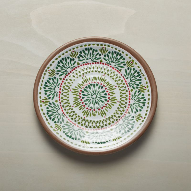 Caprice Holiday Melamine Plate