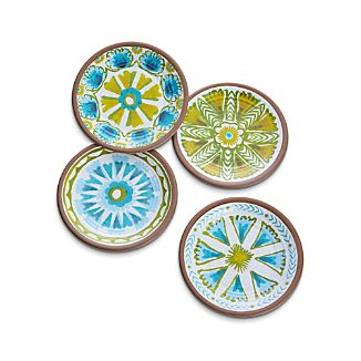 "Caprice 8.5"" Melamine Plates Set of Four"