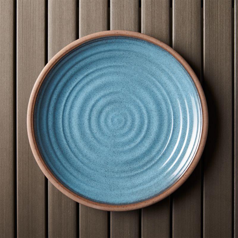 caprice blue 10 5 u0026quot  melamine plate
