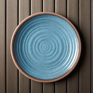 "Caprice Blue 10.5"" Melamine Plate"