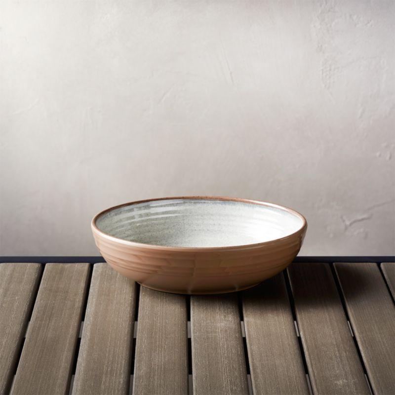 Caprice Stone 8 Quot Melamine Bowl Crate And Barrel
