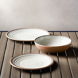 Caprice Stone Melamine Dinnerware