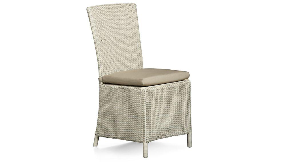 Captiva Stone Side Chair Cushion