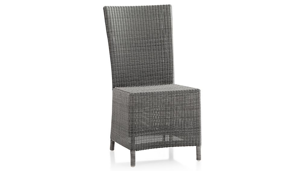 Captiva Grey Dining Chair Crate And Barrel