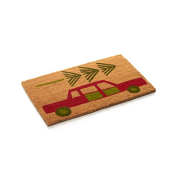 Holiday Car Doormat