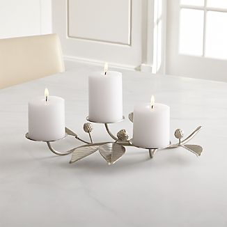 Carissa Metal Pillar Candle Holder