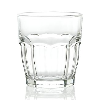 Carley Clear Double Old-Fashioned Glass