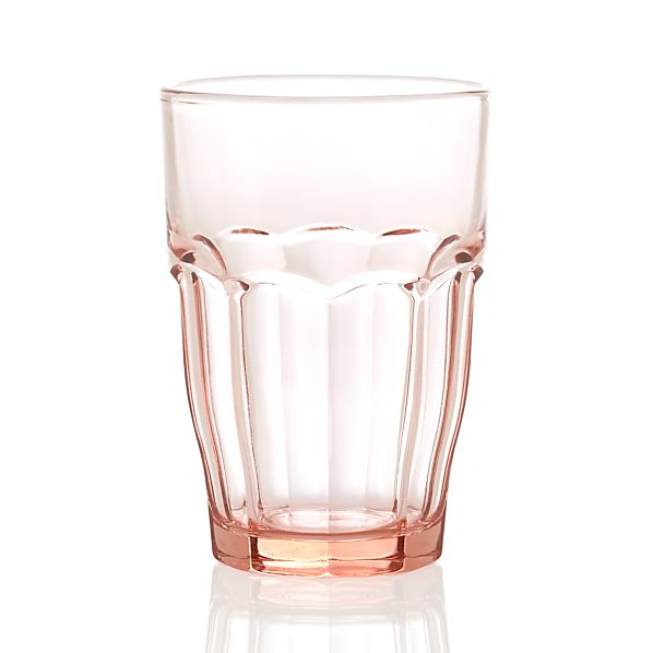 Carley Pink Highball Glass