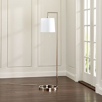 Carlisle Nickel Floor Lamp