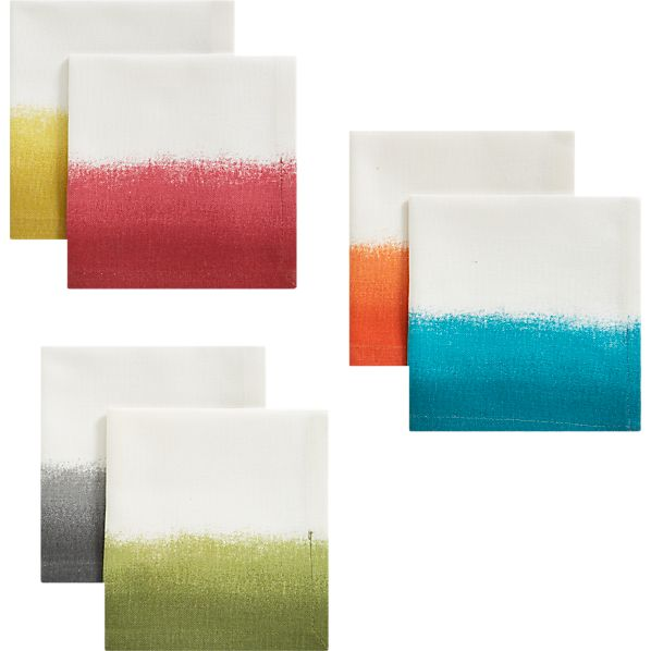 Set of 6 Carmen Cocktail Napkins