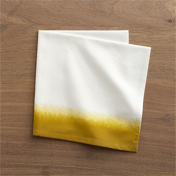 Carmen Yellow Napkin