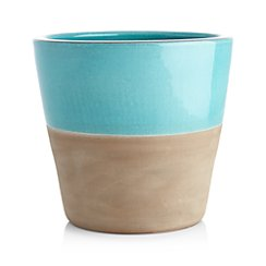 Carnivale Medium Aqua Planter