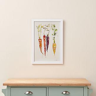 Carrot Quartet Print