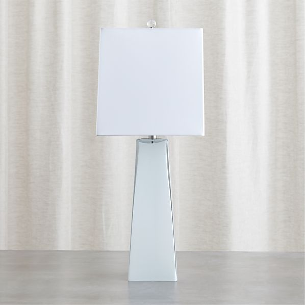 Margerie Cased Glass Table Lamp In Table Amp Desk Lamps