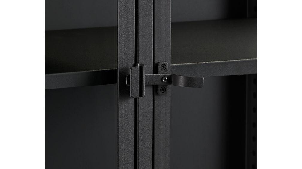 Casement Black Tall Cabinet