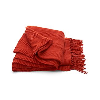 Casey Orange Throw