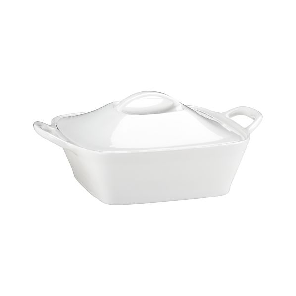 Square Casserole with Lid