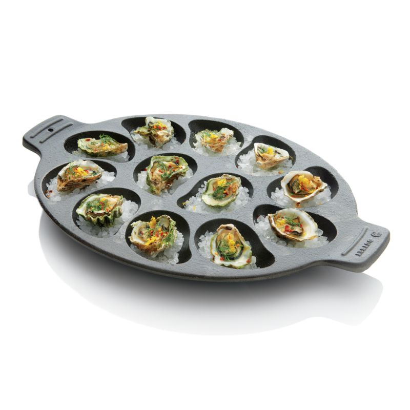 Cast Iron Oyster Grill Pan