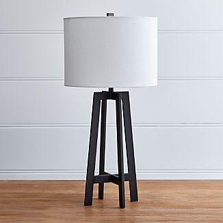 Castillo Black Table Lamp