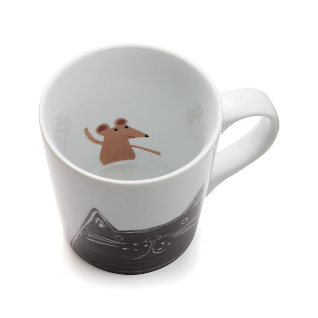 Darling cat & mouse mug