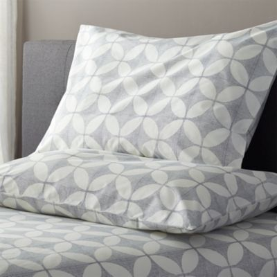 Cate Blue Standard Pillowcases Set of Two