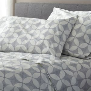 Cate Blue Queen Sheet Set