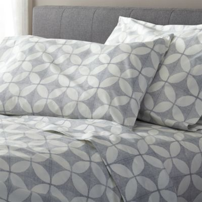 Cate Blue King Sheet Set