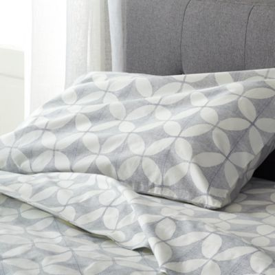Cate Blue Twin Sheet Set