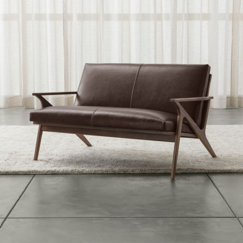 Cavett Loveseat Leather
