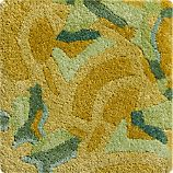 "Cecily Ochre Yellow Wool 12"" sq. Rug Swatch"