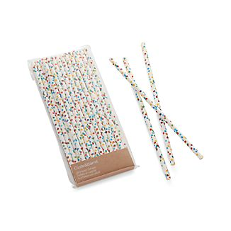 Set of 24 Celebration Straws