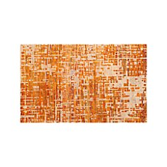 Celosia Orange Hand Knotted 5'x8' Rug