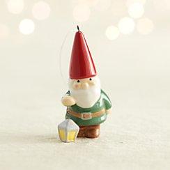 Ceramic Gnome with Lantern