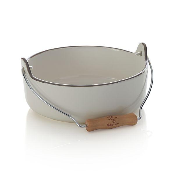 Ceramic Large Pet Bowl