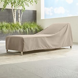 Outdoor Chaise Lounge Cover
