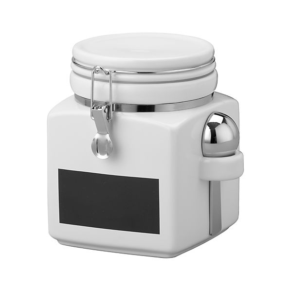 Small Clamp Canister with Chalkboard