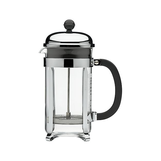 bodum chambord 34 ounce french press crate and barrel. Black Bedroom Furniture Sets. Home Design Ideas
