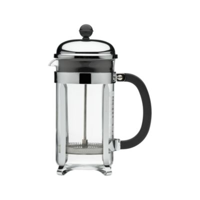 French Press Coffee Maker Assembly : Brewing French Press Coffee - Brewing French Press Coffee