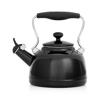 Chantal ® Vintage Black Whistling Tea Kettle