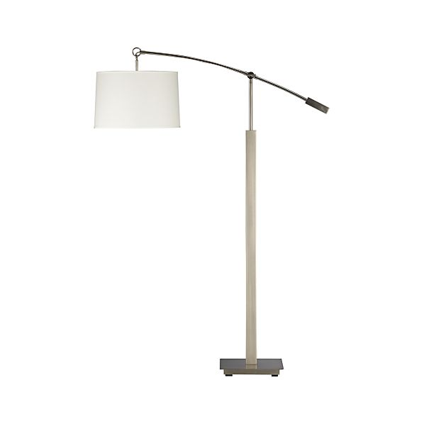 Charles Nickel Floor Lamp