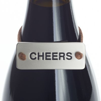 Cheers Bottle Tag