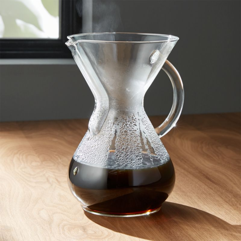 Chemex Glass-Handle 6-Cup Coffee Maker
