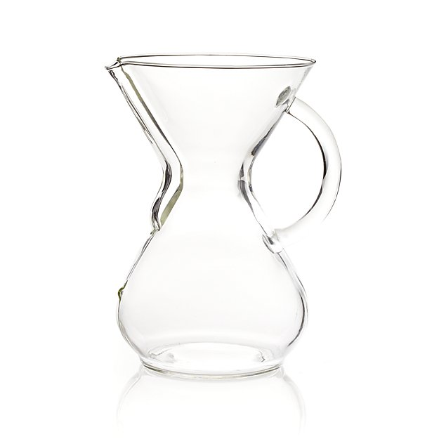 Chemex Glass-Handle 6-Cup Coffee Maker