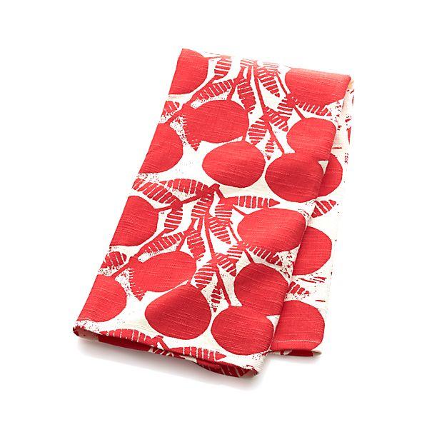 Cherries Dishtowel